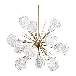 Blossom Starburst LED Chandelier
