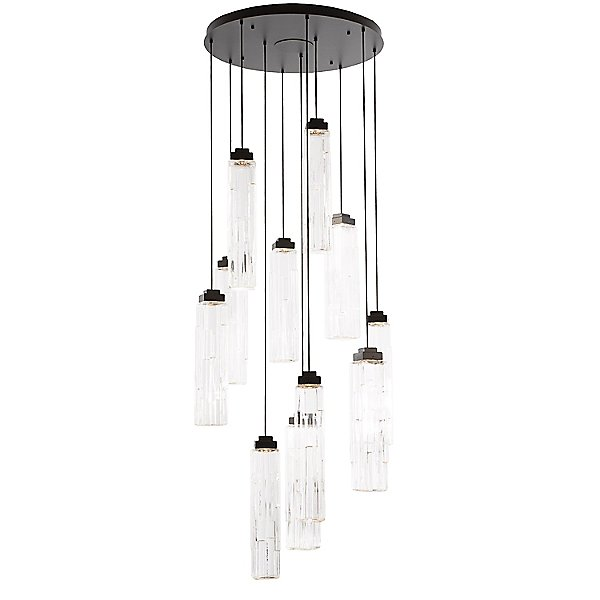 Ledgestone Round LED Multi Light Pendant Light