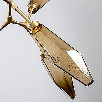 Bronze Shade, Heritage Brass finish