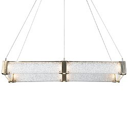 Parallel Rectangular LED Linear Suspension