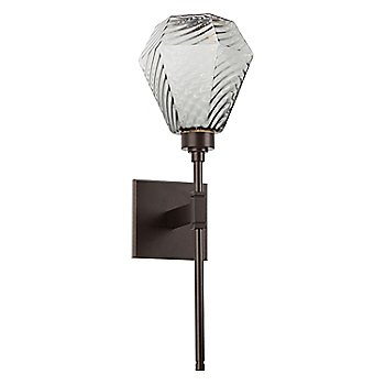 Flat Bronze finish, Optic Twist Smoke Shade color