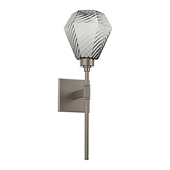 Metallic Beige Silver finish, Optic Twist Smoke Shade color