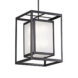 Outdoor Double Box Pendant Light