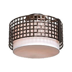 Tweed Semi-Flush Mount Ceiling Light