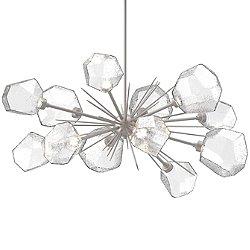 Gem Oval Starburst LED Chandelier