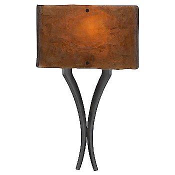 Gunmetal finish / Bronze Granite / illuminated