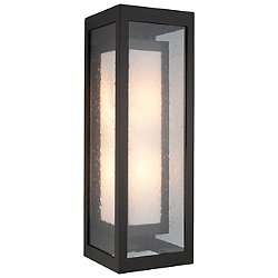 Outdoor Double Box Cover Wall Sconce
