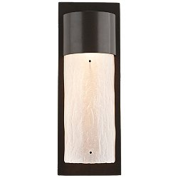 Outdoor Short Round Wall Sconce