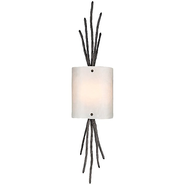 Ironwood Thistle Glass Wall Sconce