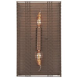 Downtown Mesh Cover Wall Sconce