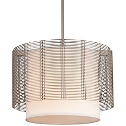 Downtown Mesh Linen Chandelier