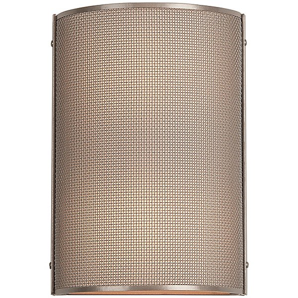 Uptown Mesh Cover Wall Sconce