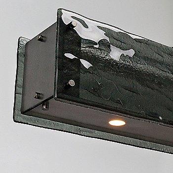 Smoke Granite shade / Gunmetal finish / Detail view