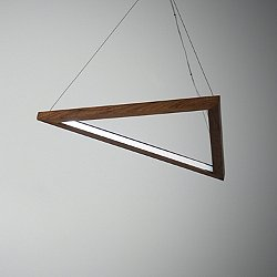 Triangle LED Pendant Light