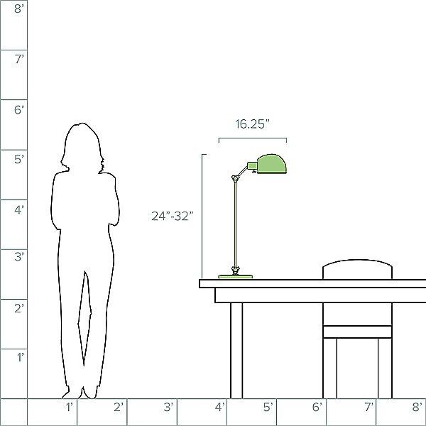Addison Adjustable Pharmacy Desk Lamp