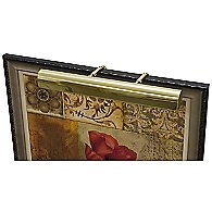 Traditional Picture Light (Polished Brass/L)-OPEN BOX RETURN