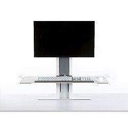 QuickStand Adjust Workstation (Blk/Hvy/Grom/Sm/No)-OPEN BOX