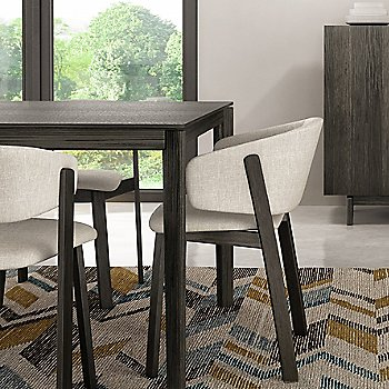 Grey Oak finish / Nubia 010 fabric