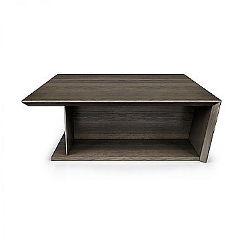 Smoked Oak Wood finish / Charcoal Lacquer Color