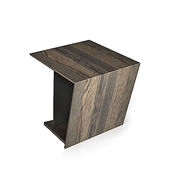 Smoked Oak Wood Finish / Black Lacquer Color