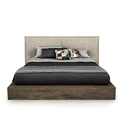SILK Upholstered Storage Bed