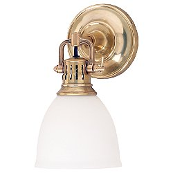 Pelham Wall Sconce with Glass Shade
