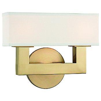Aged Brass finish / 2 Light