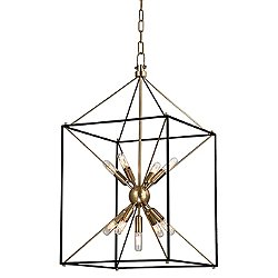 Glendale 9 Light Pendant (Aged Brass/Med) - OPEN BOX RETURN