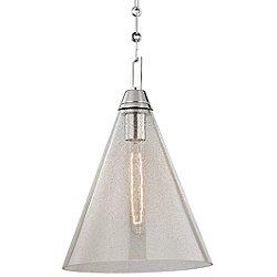 Newbury Pendant Light (Polished Nickel/Small) - OPEN BOX RETURN