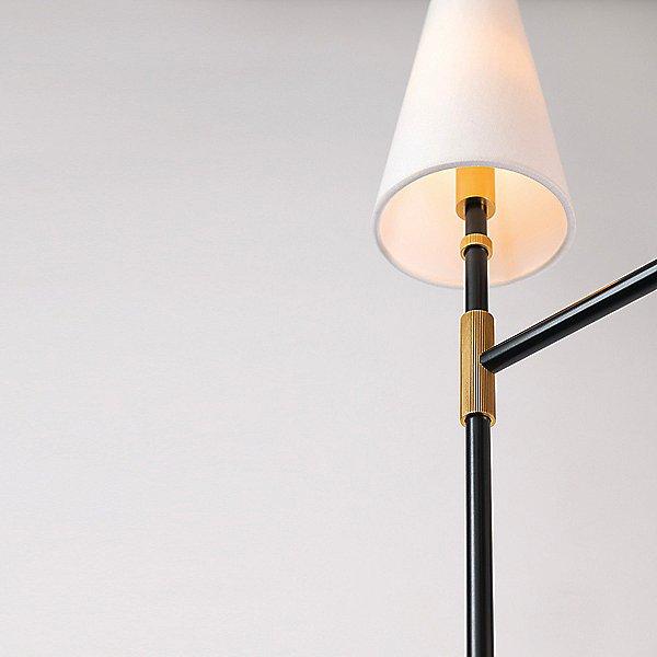 Bowery Nine Light Two-Tier Chandelier