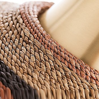 Aged Brass finish, detail