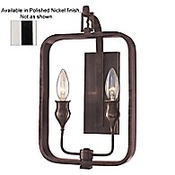 Rumsford Wall Sconce (Polished Nickel) - OPEN BOX RETURN