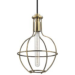 Colebrook 10 Inch Round Pendant Light