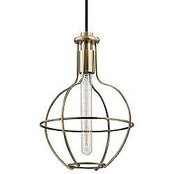 Colebrook 10 Inch Round Pendant Light
