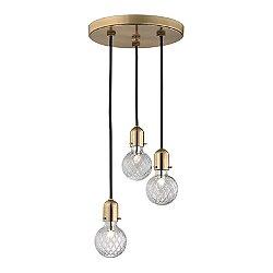 Marlow 3 Light Pendant Light