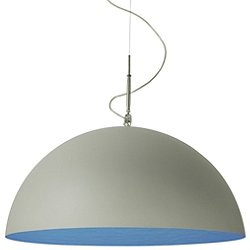 Mezza Luna Cemento Pendant Light