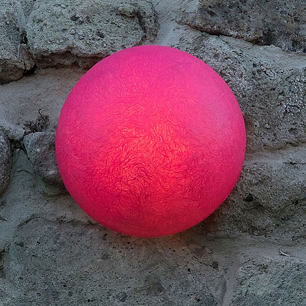 Button Out Outdoor Wall/Floor Lamp
