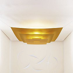 Luxury Pure LED Semi-Flush Mount Ceiling Light