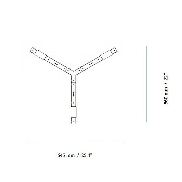 Cubi LED Linear Chandelier