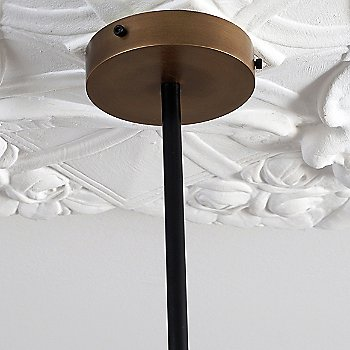 Powder Coated Black Finish / Polished Dark Bronze accents