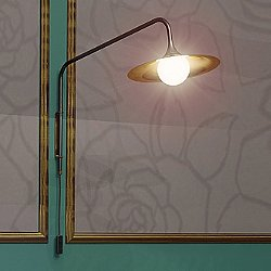 "Bullarum Solo ""A"" Long Wall Lamp"
