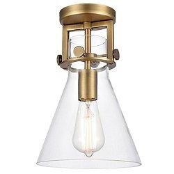 Preston Cone Semi-Flush Mount Ceiling Light