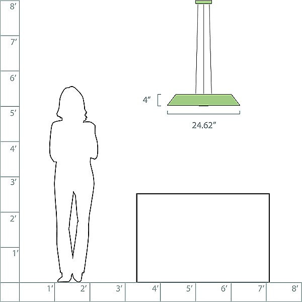 Drop LED Pendant Light