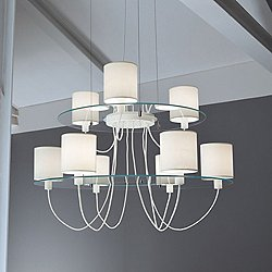 Silhouette SO 2-Tier Chandelier
