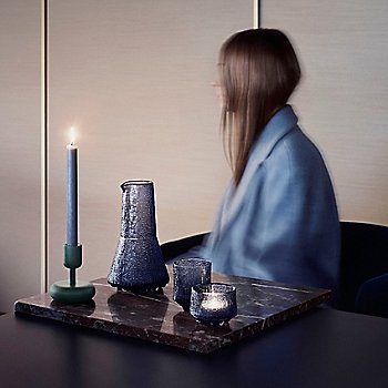 Ultima Thule Old Fashioned Glass with Nappula Pillar Candleholder and Ultima Thule 3 Pc Set - Rain