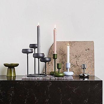 Nappula Candelabra 10.25 inch with Nappula Candleholder and Nappula Pillar Candleholder