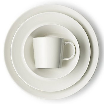 Teema Dinner Plate with Teema Mug and Teema Salad Plate