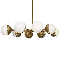 Rio Oval 8 Light Chandelier