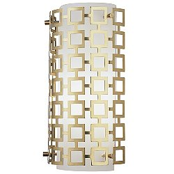 Parker Half Round Sconce (Antique Natural Brass) - OPEN BOX RETURN