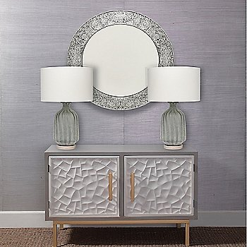 Grey Color with Frosted grey glass finish / Use In Bedroom